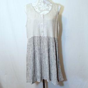 Women's Russ Baron Sleeveless Linen Tunic or Dress